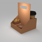Cup Holder 3 Rooms